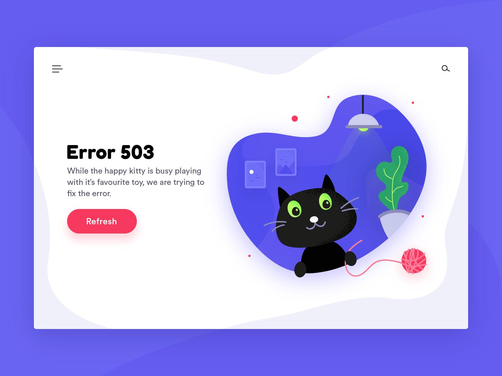 503 Service Unavailable hatası