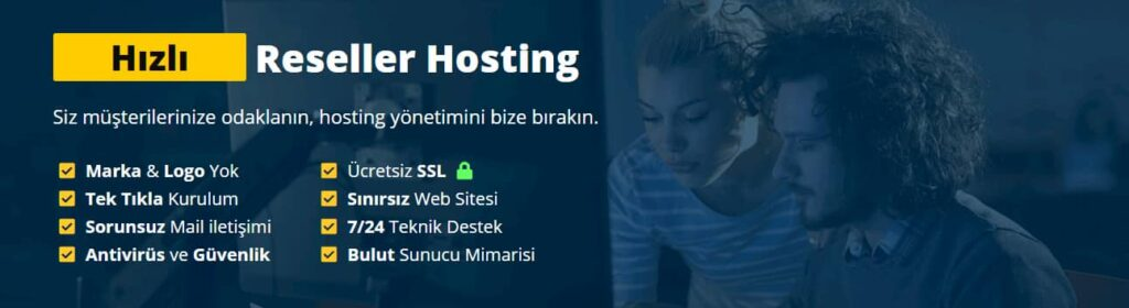 reseller hosting avantajları