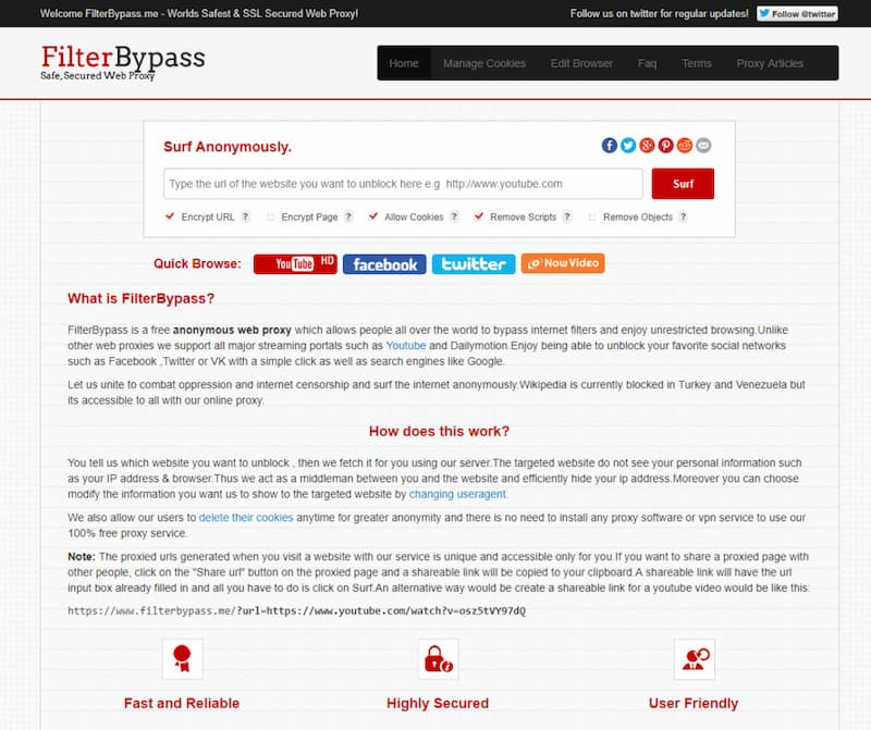 filterbypass en çok tercih edilen proxy sitesi