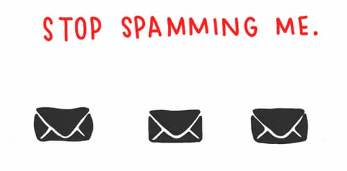 spam mail engelleme