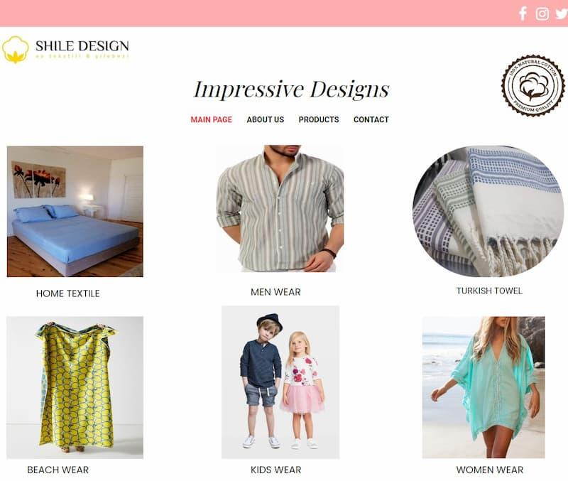 shile design sitesi