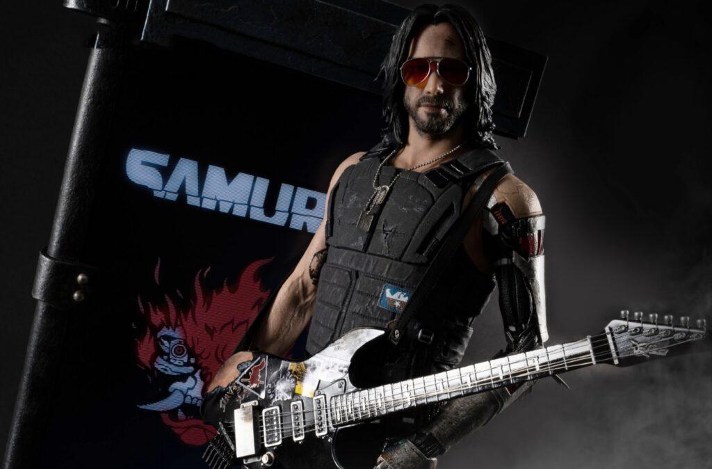 """cyberpunk 2077 Keanu Reves tarafından canlandırılan karakter """"Johnny Silverhand"""""""