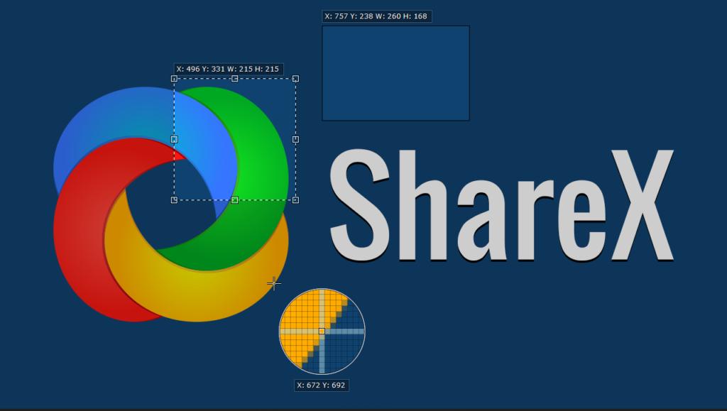 ShareX Ekran Kaydedicisi