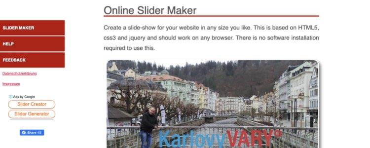 online slider maker slayt programı