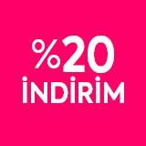 %20 indirim